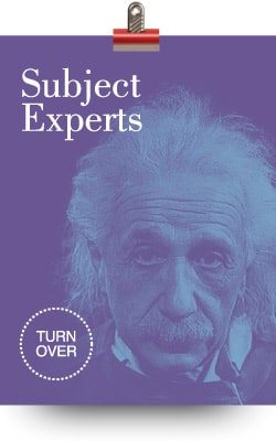 Subject Experts